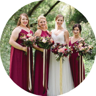 Shop Red Bridesmaid Dresses Townsville