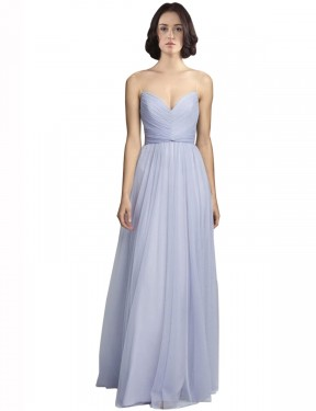 Shop A-Line Spaghetti Straps Sweetheart Long Floor Length Lilac Roselyn Bridesmaid Dress Townsville